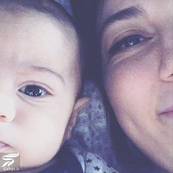 عکس جدید حدیث میرامینی و پسرش برنا · جدید ۹۹ -گهر