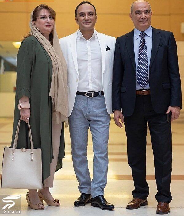 632501 Gahar ir احسان کرمی در کنار پدر و مادرش / عکس