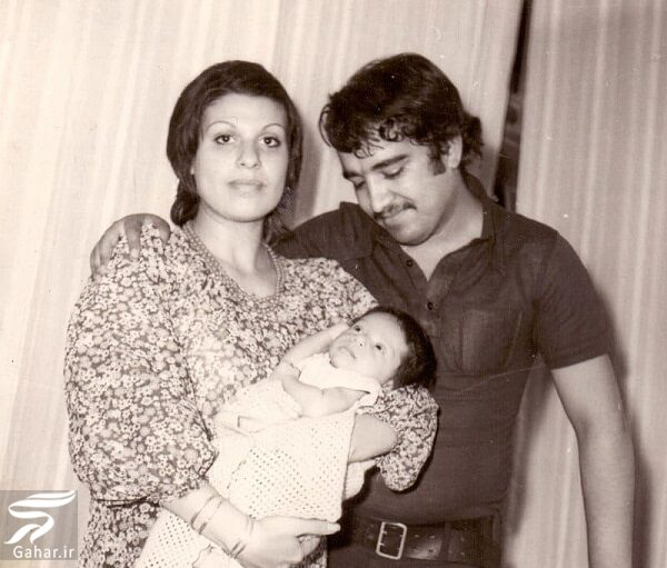 عکسهای دیدنی از جوانی گوهر خیراندیش در کنار همسر و فرزندانش, جدید 1400 -گهر