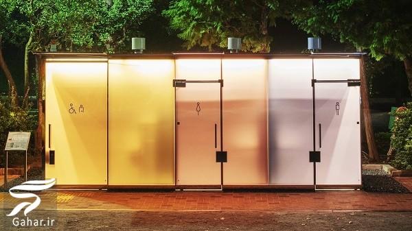 تکنولوژی جالب سرویس های بهداشتی شفاف در ژاپن | فیلم, جدید 1400 -گهر