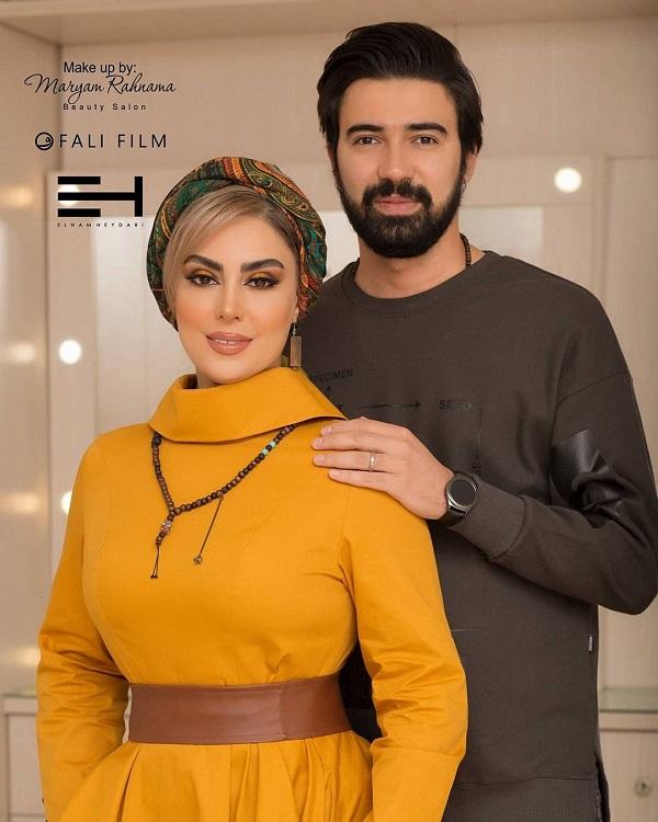 عکسهای تولد نیلوفر شهیدی در کنار همسرش, جدید 1400 -گهر