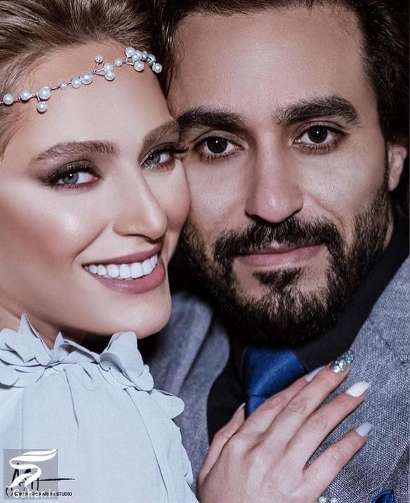 عکسهای مراسم ازدواج نگین معتضدی با کارگردان ایرانی, جدید 99 -گهر