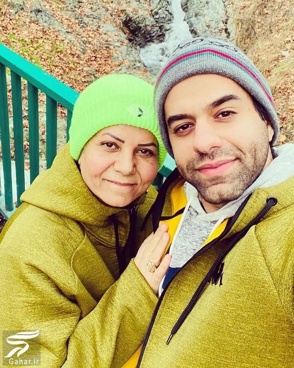 رضا بهرام و مادرش از کودکی تا به حال / عکس, جدید 1400 -گهر