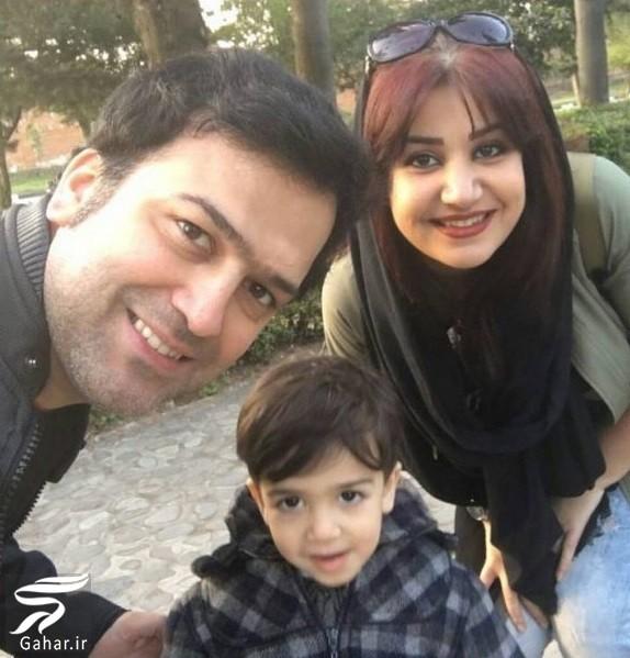 حامد آهنگی در کنار همسر و پسرش / عکس, جدید 99 -گهر
