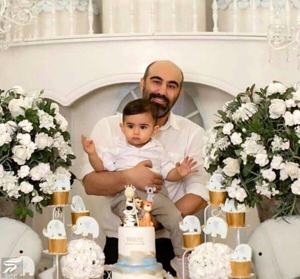 محسن تنابنده و پسرش نامی / عکس, جدید 1400 -گهر