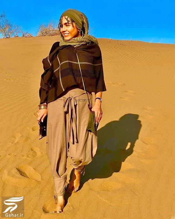 عکسهای جدید و متفاوت آزاده زارعی بازیگر آوای باران, جدید 1400 -گهر