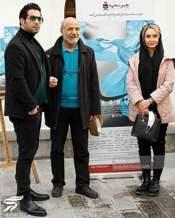 عکسهای بازیگران در اکران فیلم پارمیدا, جدید 1400 -گهر