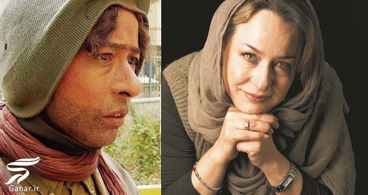 گریم های سنگین بازیگران سینمای ایران | تصاویر, جدید 99 -گهر