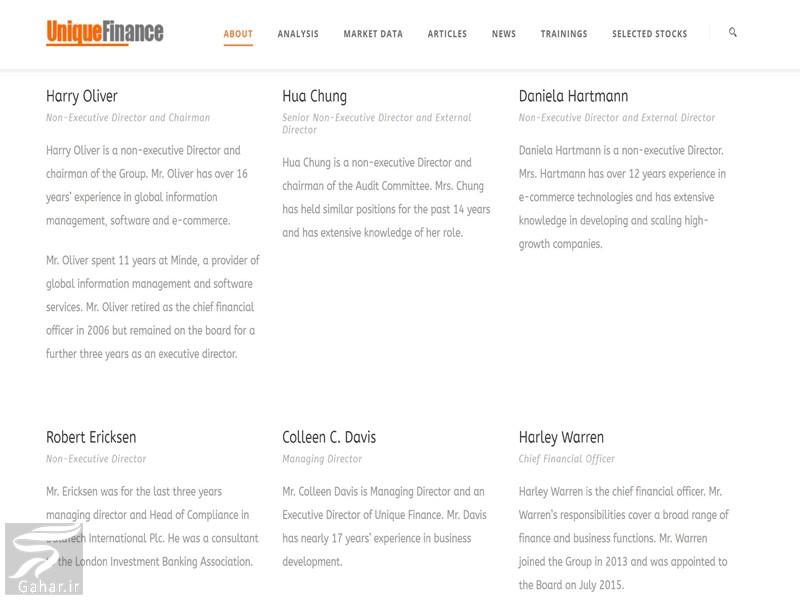 آدرس سایت یونیک فاینانس + ماجرای کلاهبرداری یونیک فاینانس, جدید 1400 -گهر