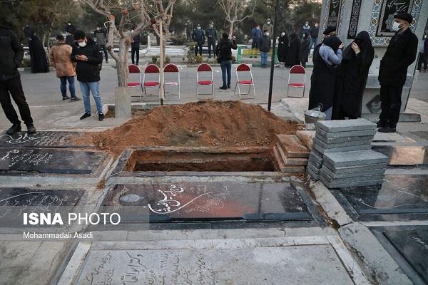 مراسم خاکسپاری علی انصاریان / تصاویر, جدید 1400 -گهر