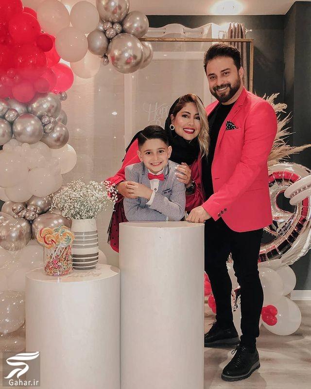 بابک جهانبخش به همراه همسرش در جشن تولد پسرش / ۶ عکس, جدید 1400 -گهر
