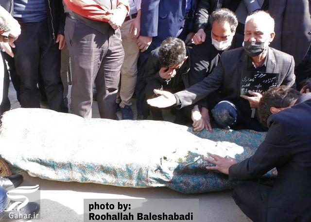 عکسهای مراسم تشییع آزاده نامداری, جدید 1400 -گهر