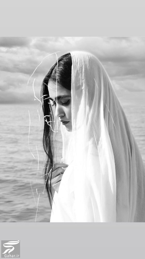 عکسهای اینستاگرام آدرینا صادقی بازیگر نقش مائده سریال احضار, جدید 1400 -گهر