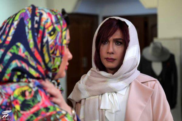 گریم زنانه حسین مهری در یک فیلم کوتاه / عکس, جدید 1400 -گهر