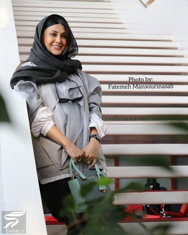 عکسهای آزاده صمدی در جشنواره جهانی فجر ۳۸, جدید 1400 -گهر
