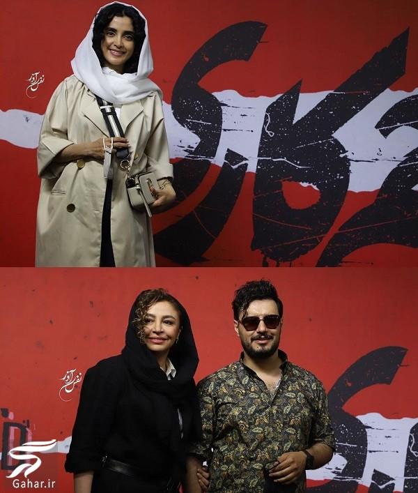 عکسهای بازیگران در افتتاحیه سریال زخم کاری · جدید ۱۴۰۰ -گهر