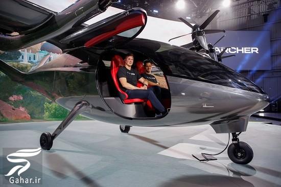 اولین تاکسی پرنده در آمریکا رونمایی شد, جدید 1400 -گهر