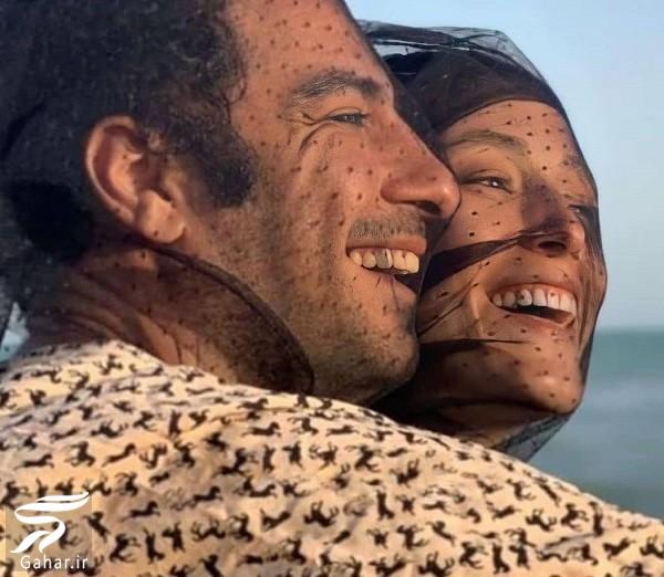 ازدواج رسمی نوید محمدزاده و فرشته حسینی / فیلم و عکس, جدید 1400 -گهر