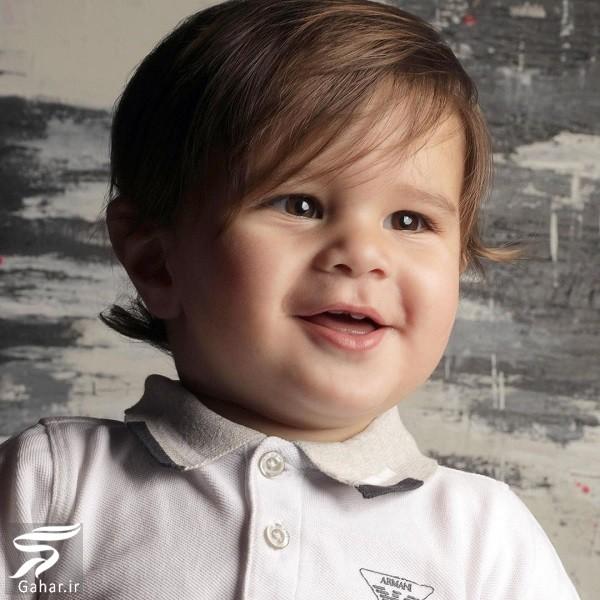 اولین عکس پسر سام درخشانی, جدید 1400 -گهر