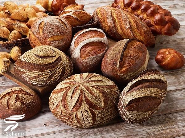 با کالری و خواص انواع نان بیشتر آشنا شوید, جدید 1400 -گهر