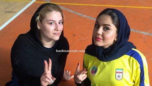 1454352229 کری آزاده زارعی کنار دختر ناصر حجازی / عکس