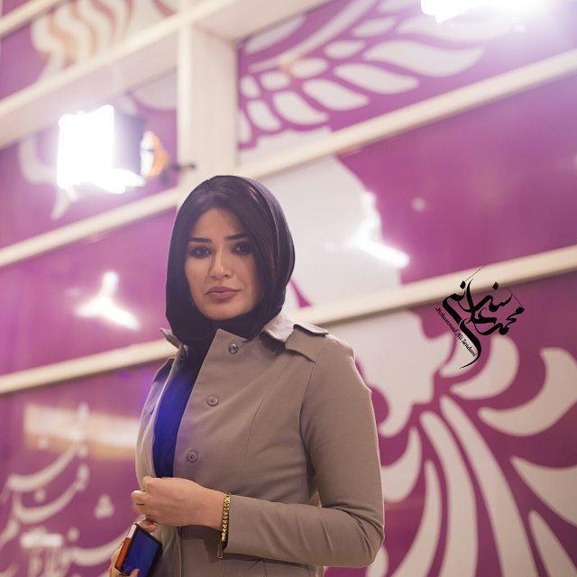 عکس های شیوا طاهری روی فرش قرمز جشنواره فیلم فجر, جدید 1400 -گهر