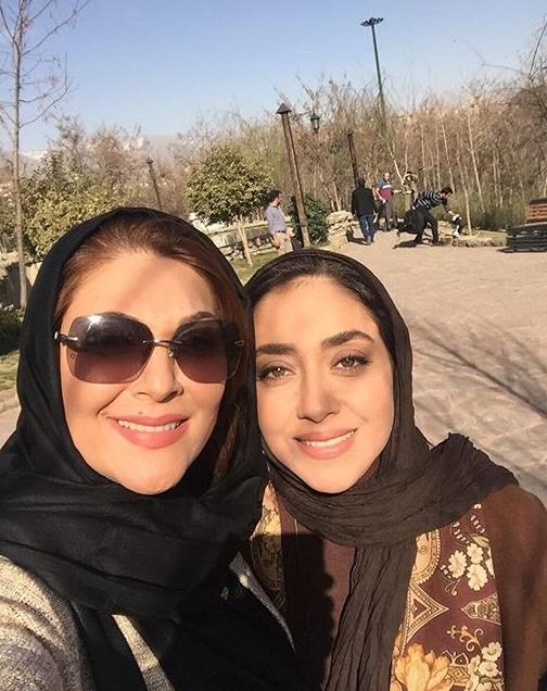 جدیدترین عکس لاله اسکندری و بهاره کیان افشار, جدید 1400 -گهر