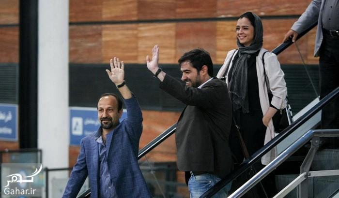 عکس های استقبال از عوامل فیلم فروشنده در فرودگاه, جدید 99 -گهر