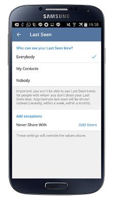 آموزش غیرفعال کردن آخرین بازدید در تلگرام last seen recently, جدید 99 -گهر