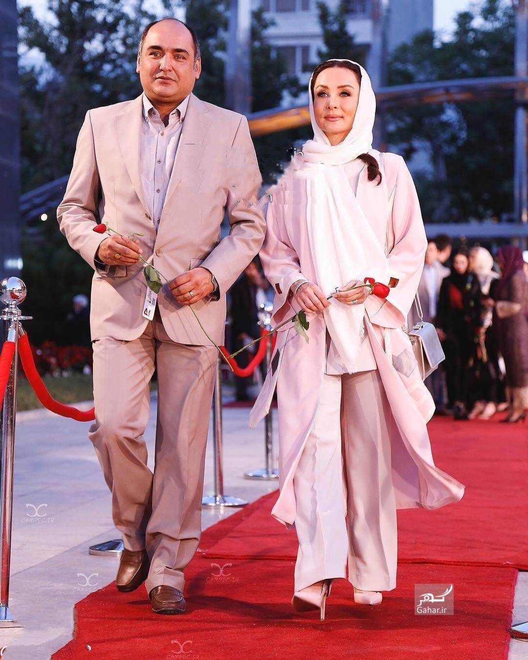 1469370722 عکس های بازیگران و همسرانشان در شانزدهمین جشن حافظ 95