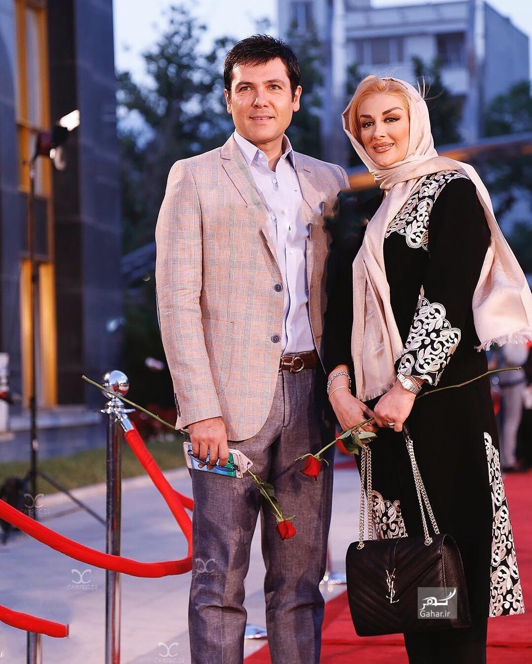 1469390852 عکس های بازیگران و همسرانشان در شانزدهمین جشن حافظ 95