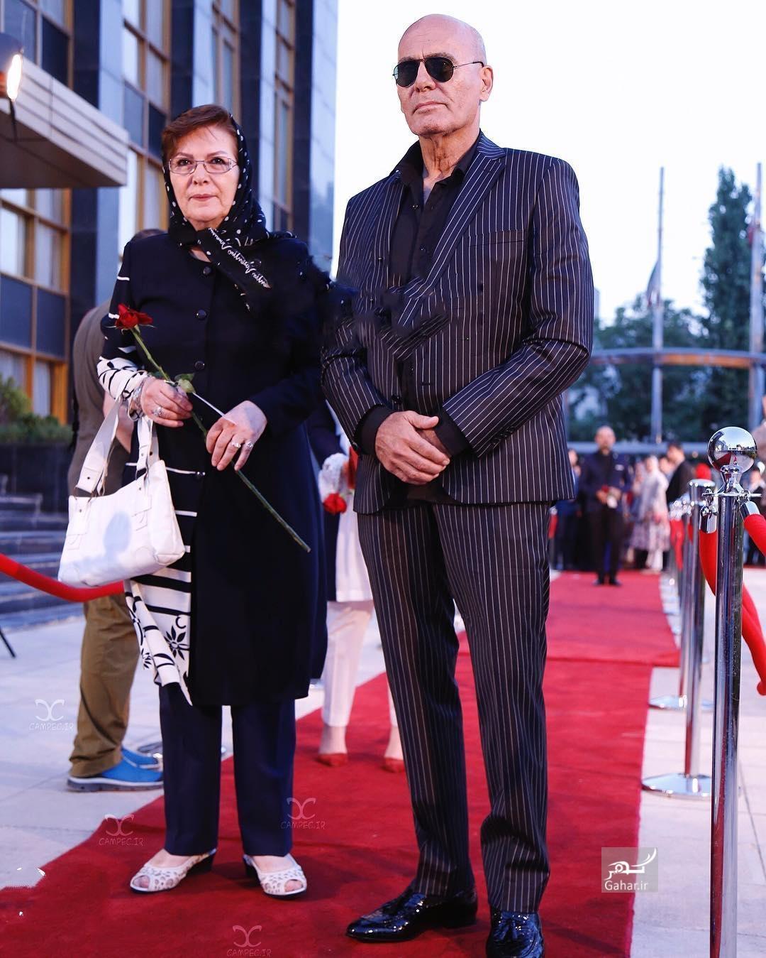 1469417857 عکس های بازیگران و همسرانشان در شانزدهمین جشن حافظ 95