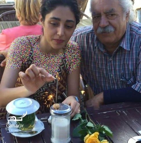 عکس: تولد گلشفته فراهانی در کنار پدر و مادرش, جدید 1400 -گهر