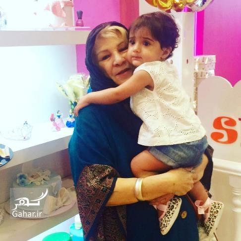 عکس مادر و دختر شبنم قلی خانی, جدید 1400 -گهر