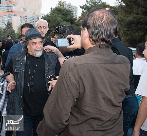 عکسهای بازیگران مرد در مراسم ختم داوود رشیدی, جدید 1400 -گهر