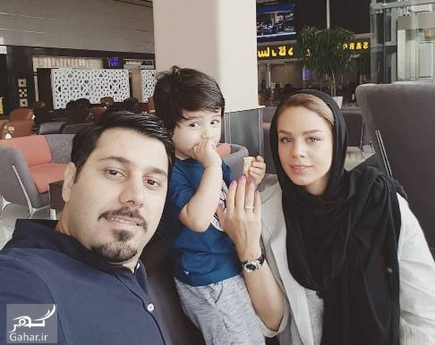 عکس جدید احسان خواجه امیری و همسرش, جدید 1400 -گهر