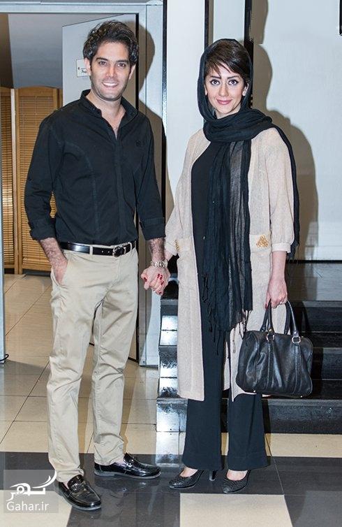 عکسهای جدید امیرعلی نبویان و همسرش در اکران فیلم اینجا کسی نمی میرد, جدید 1400 -گهر