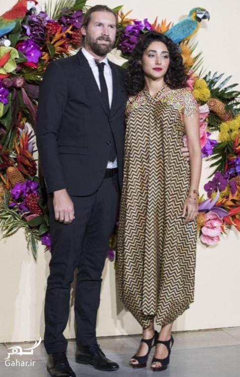 عکسهای جدید گلشیفته فراهانی و همسر جدیدش در اپرا, جدید 1400 -گهر