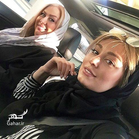 عکس جدید سحر قریشی و مادرش در ماشین گرانقیمتش, جدید 1400 -گهر