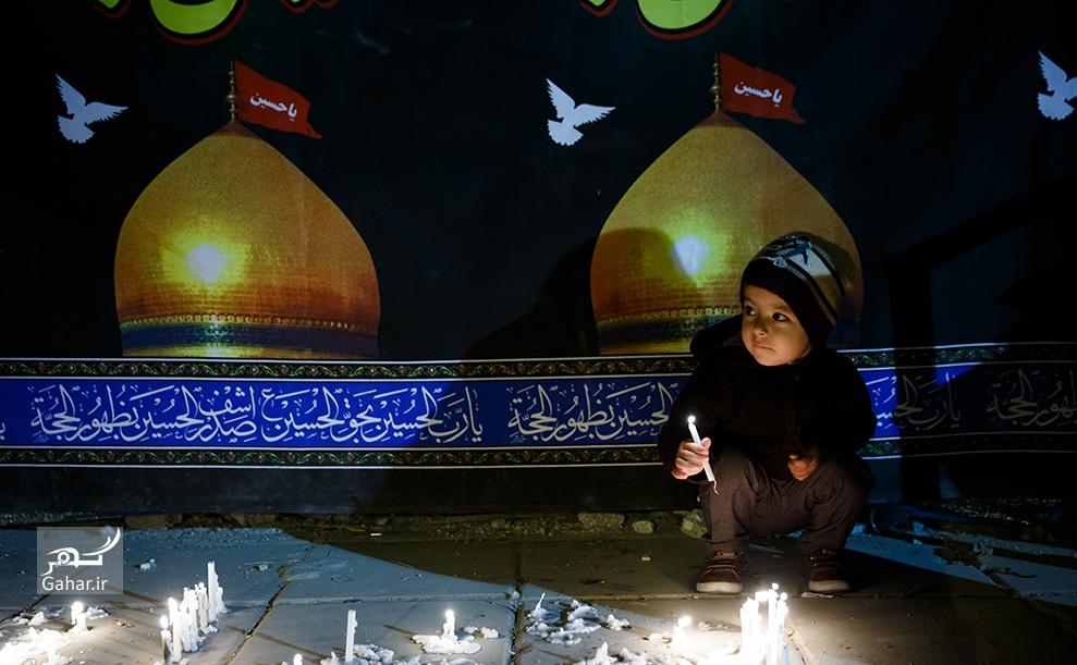 1476342836 عکس های حضور مردم در شام غریبان سیدالشهدا (ع)