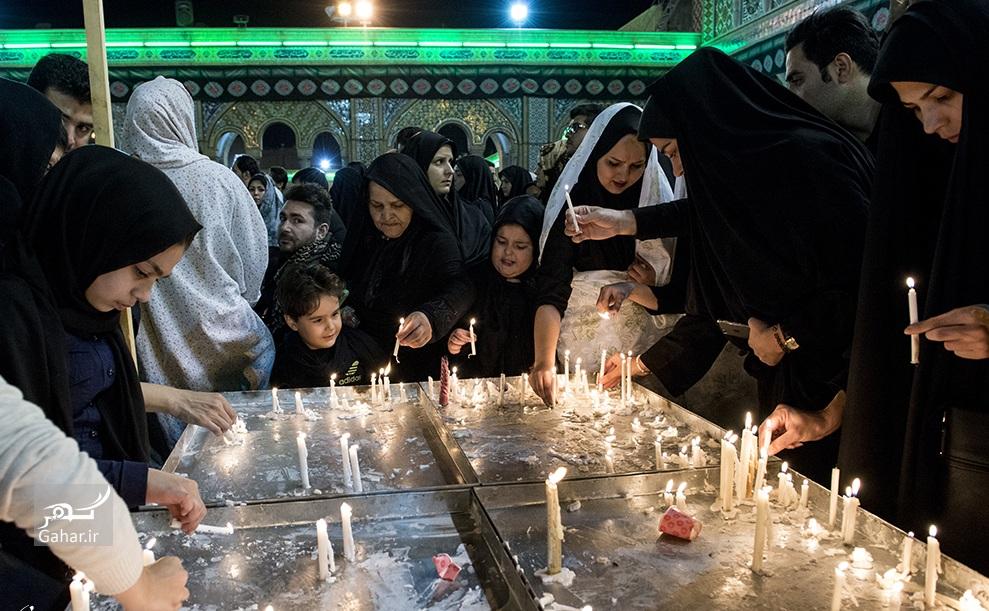 1476344113 عکس های حضور مردم در شام غریبان سیدالشهدا (ع)