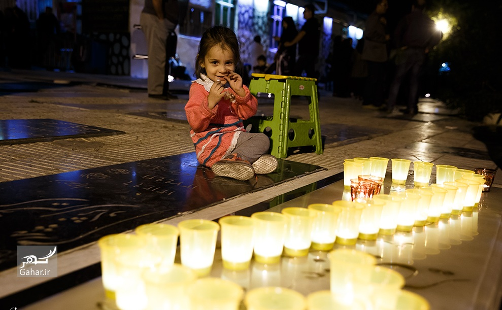 1476416394 عکس های حضور مردم در شام غریبان سیدالشهدا (ع)