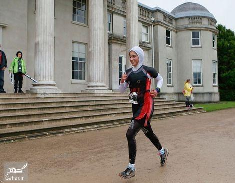 1476435636 حضور شیرین گرامی با حجاب کامل در مسابقه مردان آهنین جهان + عکس و بیوگرافی