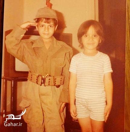 1476655315 عکسی جالب از کودکی سام درخشانی