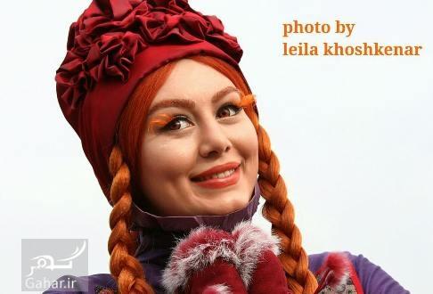 عکس های جدید سحر قریشی با موهای قرمز, جدید 1400 -گهر