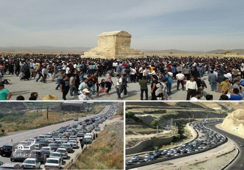 1477772919 عکسهای حضور مردم در پاسارگاد 7 آبان 95 بمناسبت تولد کوروش