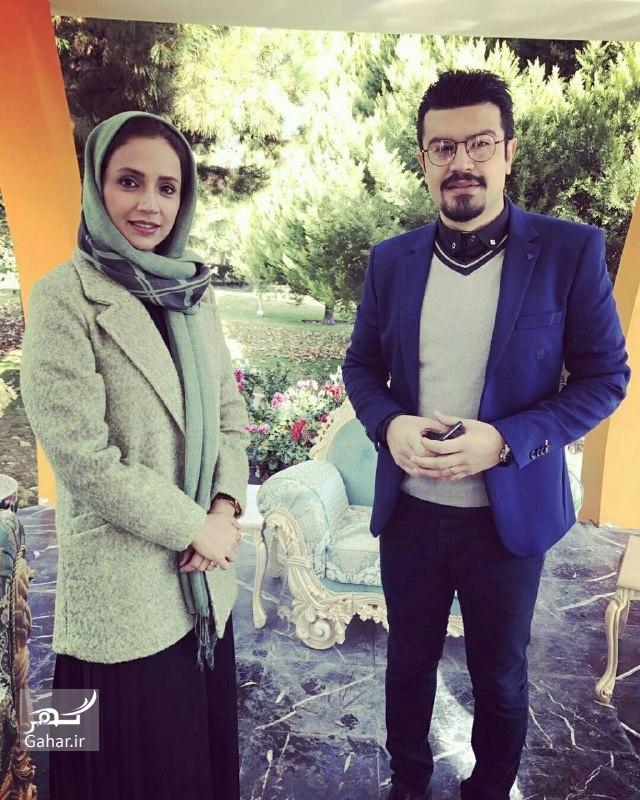 1480798743 عکس های شبنم قلی خانی در برنامه زنده رود شبکه اصفهان