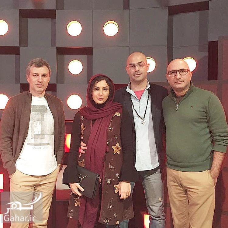 1487931592 عکس های جدید حدیثه تهرانی در کنار همسرش