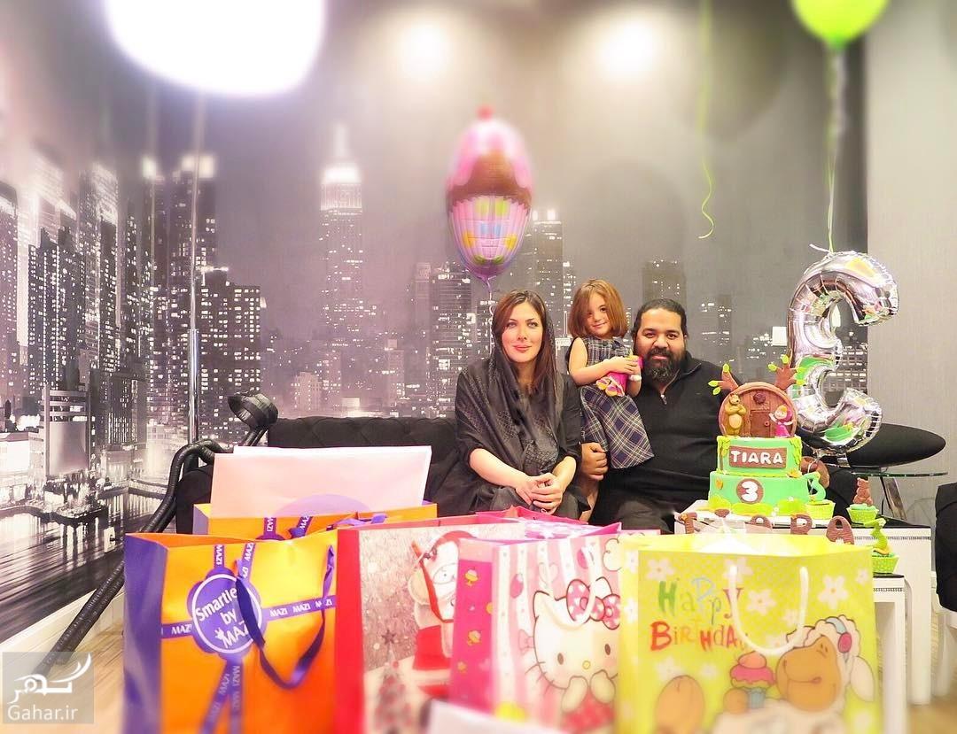 1488054292 اینستاگردی / عکس های جشن تولد دختر رضا صادقی