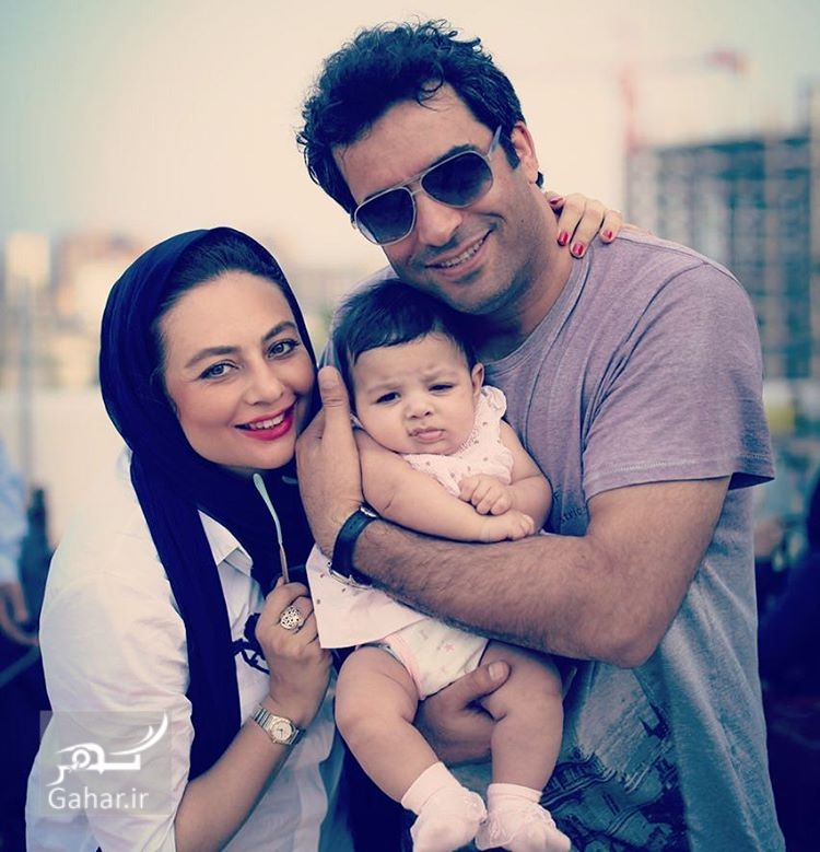 1491121921 عکس دیدنی منوچهر هادی و یکتا ناصر در کنار دخترشان